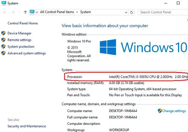 как проверить быстродействие компьютера windows 10